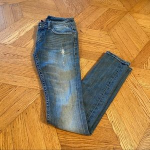 The New York Skinny Distressed Jean